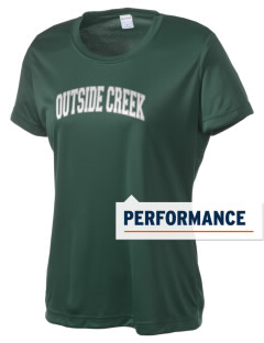 Outside Creek Elementary School Swamp Rats Women's Competitor Performance T-Shirt