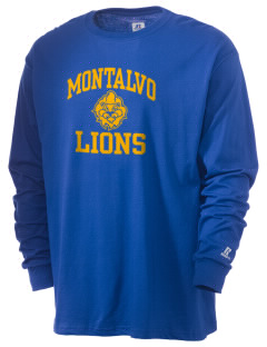 Montalvo Elementary School Lions  Russell Men's Long Sleeve T-Shirt