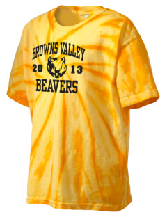 Browns Valley Elementary School Beavers Kid's Tie-Dye T-Shirt