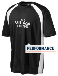 Vilas School Elementary Broncos - High School Raiders Men's Dry Zone Colorblock T-Shirt