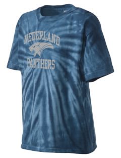 Nederland Elementary School Panthers Kid's Tie-Dye T-Shirt