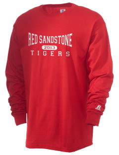 Red Sandstone Elementary School Tigers  Russell Men's Long Sleeve T-Shirt