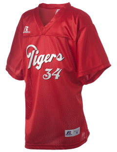 Red Sandstone Elementary School Tigers Russell Kid's Replica Football Jersey