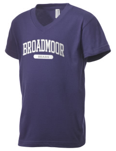 Broadmoor Elementary School Bears Kid's V-Neck Jersey T-Shirt