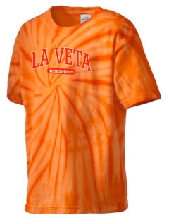 La Veta School Redskins Kid's Tie-Dye T-Shirt