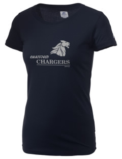 Chatfield Senior High School Chargers  Russell Women's Campus T-Shirt