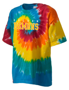Golden High School Demons Kid's Tie-Dye T-Shirt