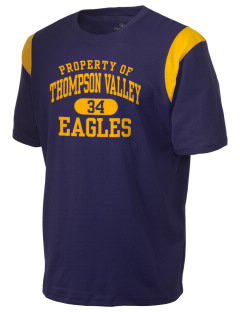 Thompson Valley High School Eagles Holloway Men's Rush T-Shirt