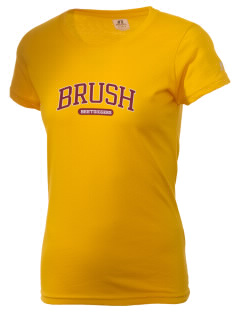 Brush High School Beetdiggers  Russell Women's Campus T-Shirt