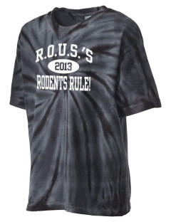 R.O.U.S.'s Rodents Rule! Kid's Tie-Dye T-Shirt