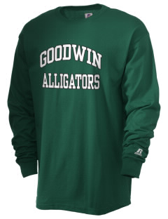 Goodwin Elementary School Alligators  Russell Men's Long Sleeve T-Shirt