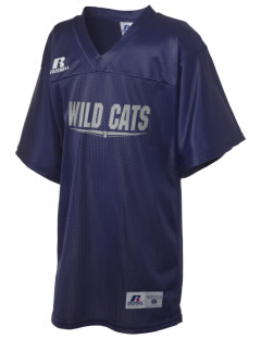 Wayne Ruble Middle Sdhool Wild Cats Russell Kid's Replica Football Jersey