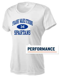 Frank Ward Strong Middle School Spartans Women's Competitor Performance T-Shirt
