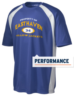 East Haven High School Yellow Jackets Men's Dry Zone Colorblock T-Shirt