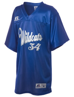 Lyme-Old Lyme Middle School Wildcats Russell Kid's Replica Football Jersey