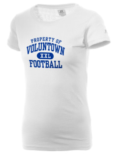 Voluntown Elementary School Eagles  Russell Women's Campus T-Shirt