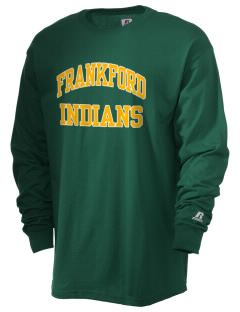 Frankford Elementary School Indians  Russell Men's Long Sleeve T-Shirt