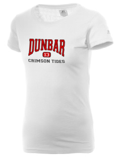 Dunbar Senior High School Crimson Tides  Russell Women's Campus T-Shirt