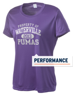 Waterville Junior High School Pumas Women's Competitor Performance T-Shirt