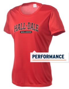 Hall-Dale High School Bulldogs Women's Competitor Performance T-Shirt