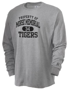 Morse Memorial Elementary School Tigers  Russell Men's Long Sleeve T-Shirt