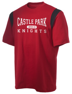 Castle Park Elementary School Knights Holloway Men's Rush T-Shirt