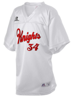 Castle Park Elementary School Knights Russell Kid's Replica Football Jersey