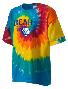 Western Heights Middle School Bears Kid's Tie-Dye T-Shirt