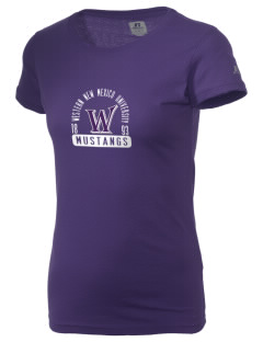 Western New Mexico University Mustangs  Russell Women's Campus T-Shirt