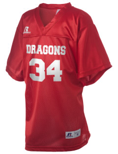 Gaines Elementary School Dragons Russell Kid's Replica Football Jersey