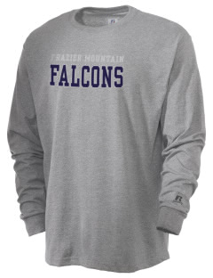 Frazier Mountain High School Falcons  Russell Men's Long Sleeve T-Shirt