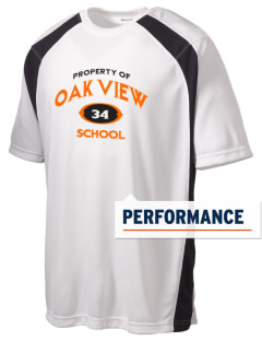 Oak View School Men's Dry Zone Colorblock T-Shirt