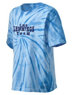 Leiphart Alternative High School Lemmings Kid's Tie-Dye T-Shirt