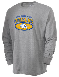 Burbank Edu-care Preschool Eagles  Russell Men's Long Sleeve T-Shirt