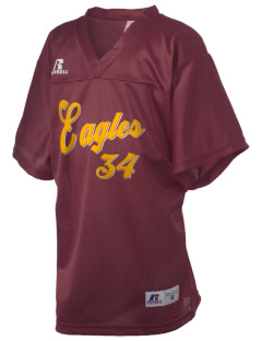 Deckerville High School Eagles Russell Kid's Replica Football Jersey