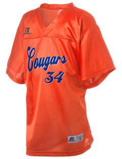 Garden City High School Cougars Russell Kid's Replica Football Jersey
