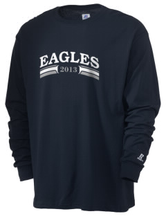 St. Stephen's & St. Agnes School Eagles  Russell Men's Long Sleeve T-Shirt