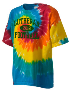 Lutheran High School Panthers Kid's Tie-Dye T-Shirt
