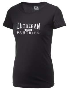 Lutheran High School Panthers  Russell Women's Campus T-Shirt