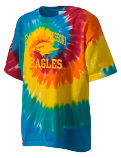 Eagle Montessori Center Eagles Kid's Tie-Dye T-Shirt