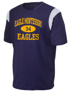 Eagle Montessori Center Eagles Holloway Men's Rush T-Shirt