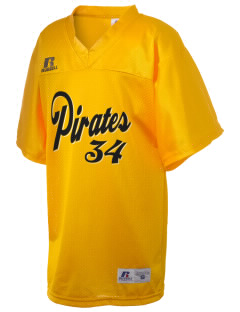 Concord Elementary School Pirates Russell Kid's Replica Football Jersey