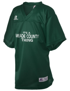 Meade County High School Greenwaves Russell Kid's Replica Football Jersey