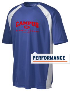 campus community school cougar Men's Dry Zone Colorblock T-Shirt