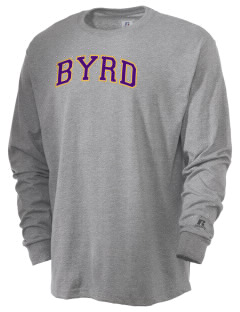 Byrd High School Yellow Jackets  Russell Men's Long Sleeve T-Shirt