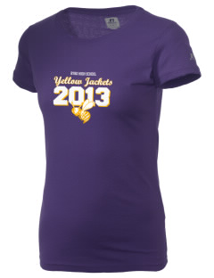 Byrd High School Yellow Jackets  Russell Women's Campus T-Shirt