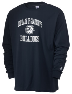 Our Lady Of Guadalupe School Bulldogs  Russell Men's Long Sleeve T-Shirt