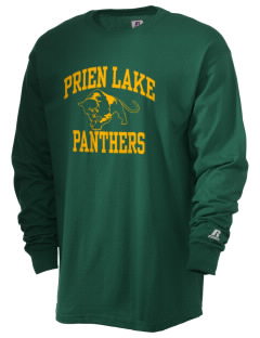 Prien Lake Elementary School Panthers  Russell Men's Long Sleeve T-Shirt
