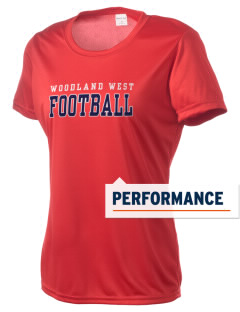 Woodland West Elementary School Eagles Women's Competitor Performance T-Shirt