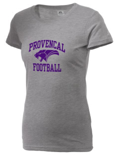 Provencal Elementary School Panthers  Russell Women's Campus T-Shirt